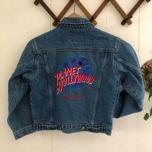 Vintage Planet Hollywood Denim Jacket
